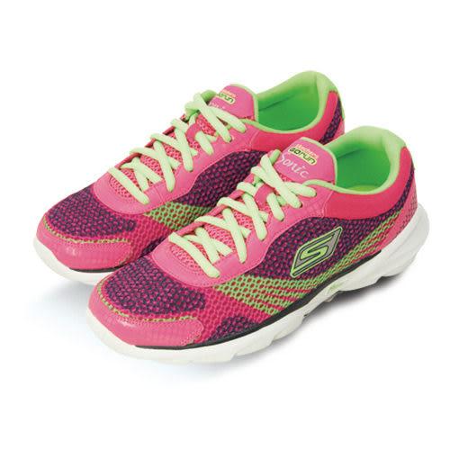 skechers 超輕量慢跑鞋--GOrun Sonic--桃螢綠--13914HPGR--女