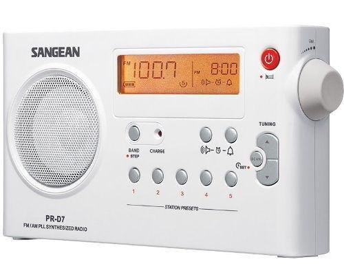 平廣 山進 SANGEAN PR-D7 PRD7 收音機 送收納袋 家用型 保固一年 ( PR-D4 改版 )