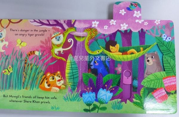 【 First Stories 童話故事(幼兒版)】THE JUNGLE BOOK /操作書 (森林王子)