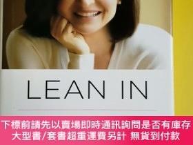 二手書博民逛書店Lean罕見In:Women, Work, and the Will to Lead 內頁幹凈整潔 383 Y