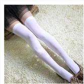 日系防滑高筒襪子春秋長筒襪女學生黑白色中筒襪長筒半截大腿絲襪優樂居生活館