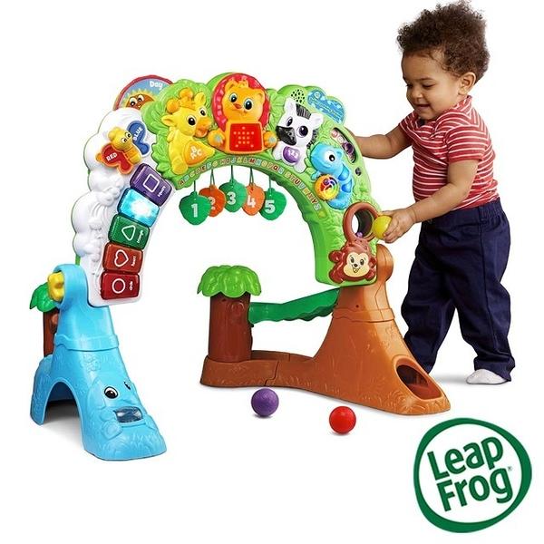 Leap frog 跳跳蛙 森林動物探險健力架【佳兒園婦幼館】
