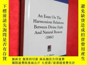 二手書博民逛書店An罕見Essay on the Harmonious Rela