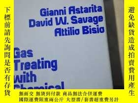 二手書博民逛書店Gas罕見Treating with Chemical Solv