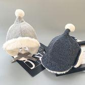 冬季6-12個月寶寶帽子男女兒童加絨加厚帽子嬰兒護耳帽雷鋒帽保暖