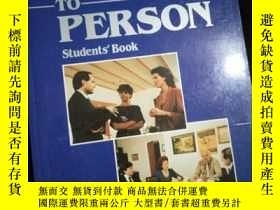 二手書博民逛書店PERSON罕見TO PERSON Students'BookY16149