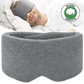 [拉拉百貨]莫代爾棉大眼罩 深度睡眠眼罩 舒眠眼罩 黏貼式 無痕眼罩 遮光眼罩