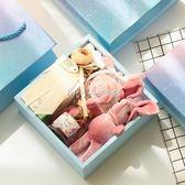 喜糖盒  伴娘伴手禮結婚回禮創意禮物盒喜糖禮盒成品含糖婚禮小清新  瑪奇哈朵