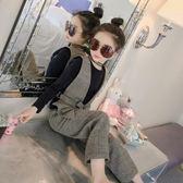 618好康鉅惠 童裝女童套裝裝新款洋氣時尚三件套小孩衣服