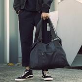 休閑側背包男士斜挎包手提旅行包運動包健身包行李包青年潮大容量 美好生活