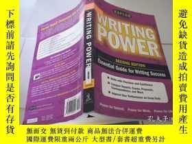 二手書博民逛書店WRITING罕見POWERY9740 出版2001