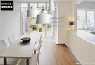 INPHIC- 客廳個性創意鐵藝餐廳單頭吊燈北歐臥室簡約木質吧檯燈飾-C款_S197C