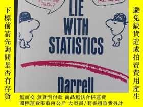 二手書博民逛書店How罕見to lie with statisticsY193141 Darrell Huff Penguin