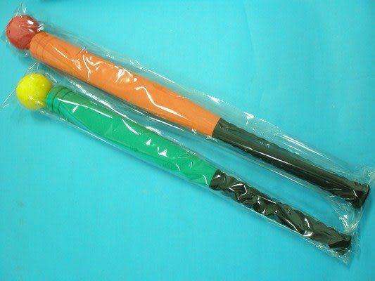 樂樂棒球棒+球 標準比賽專用球棒(27英吋長型) 安全球棒69cmMIT製 袋入 促[#280]