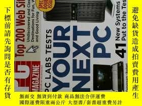 二手書博民逛書店PC罕見Magazine 2007年11月6日 英文個人電腦雜誌 可用樣板間道具雜誌Y14610