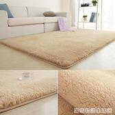 現代簡約羊羔絨客廳茶幾地毯臥室床邊滿鋪長方形榻榻米地毯墊  HM 居家物語