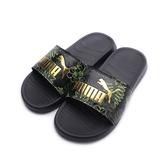 PUMA POPCAT 20 SUMMER WNS 運動拖鞋 黑金 372626-01 女鞋