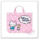 ♥小花花日本精品♥ 粉色 手提包 外出包 補習袋 手提袋 布面提袋 日本製 42108405