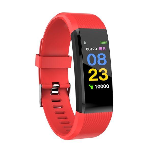 智慧手環男女防水運動計步手表多功能心率血壓監測安卓蘋果
