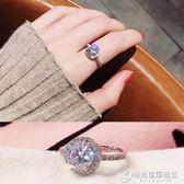 戒指 閃爆水晶潮人冷淡風戒指女日韓網紅大氣個性學生Chic極簡食指環潮 時尚芭莎