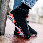 -[TellCathy]AIR JORDAN 6 RETRO GS 喬丹 黑橘 六代 女 384665-060