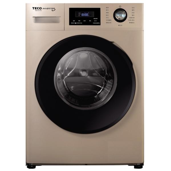 【TECO 東元】10公斤變頻溫水洗脫滾筒洗衣機(WD1073G)