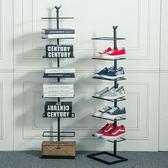 618好康鉅惠鐵藝鞋架多層簡易客廳家用經濟型多功能
