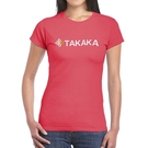 『VENUM旗艦店』【TAKAKA】中性 印花彈性T恤『玫紅』M51876