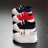 寶寶帆布鞋男童軟底小童鞋女童寶寶鞋子1-2歲春秋款潮版寶寶布鞋 快速出貨