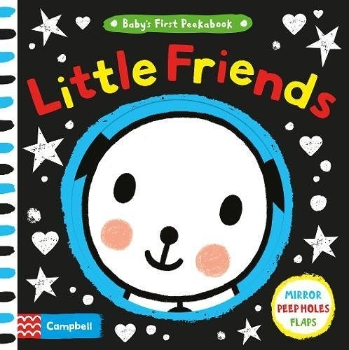 【小寶貝的動物朋友書】BABY'S FIRST PEEKABOOK: LITTLE FRIENDS  /硬頁挖洞書