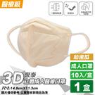 聚泰 聚隆 3D立體成人醫療口罩 (哈密瓜) 10入/盒 (台灣製 CNS14774) 專品藥局【2019611】