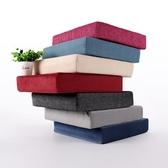 重質高密度高彈海綿榻榻米加厚坐墊椅墊沙發木沙發地板屁股墊座墊