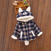 兒童寶寶冬裝棉衣加絨外套加厚男童4嬰兒1小童2衣服0-3周歲正韓潮