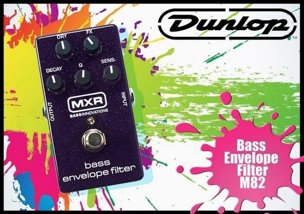 【小麥老師 樂器館】Dunlop MXR M-82 M82 Bass Envelope 娃娃 單顆 效果器
