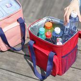 年終大促大容量保溫包加厚牛津布飯盒袋帶飯包便當包戶外防水手提野餐包 熊貓本