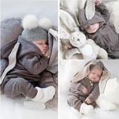 男童秋裝新款韓版潮衣寶寶服裝女0一1歲新生嬰兒反季連體哈衣 zm10265【每日三C】