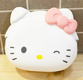 【震撼精品百貨】Hello Kitty_凱蒂貓-三麗鷗 Hello Kitty日本SANRIO三麗鷗KITTY日本矽膠造型零錢包-粉*78023