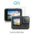 【愛瘋潮】Qii GoPro HERO 9 Black 玻璃貼(鏡頭+大螢幕+小螢幕) 螢幕保護貼