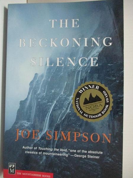 【書寶二手書T8/原文小說_D7V】The Beckoning Silence_Simpson, Joe