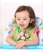 寶寶喂飯兜嬰兒純棉防3吃飯1歲2幼兒童圍兜