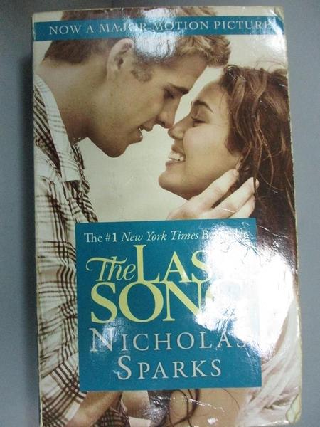 【書寶二手書T6/原文小說_NOQ】The Last Song_Nicholas Sparks