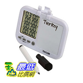 Taylor 5849 定時器 Quad Kitchen Timer with Whiteboard [2美國直購]