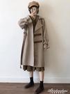 秋冬季2020新款韓版百搭毛呢外套女格子風衣中長款呢子大衣小個子 黛尼時尚精品