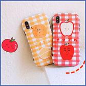 蘋果 XR XS i8 Plus XS MAX iX i7 Plus 水果人物 手機殼 全包邊 可掛繩 保護殼