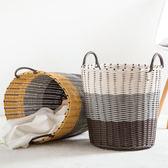 塑料編織臟衣籃臟衣筐臟衣服收納筐