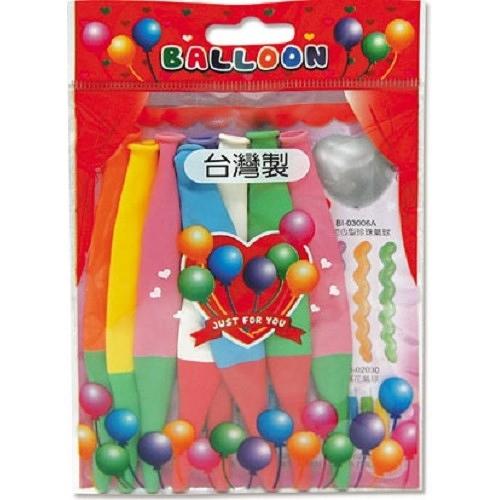 蘋果氣球/小包裝bi-03007【愛買】