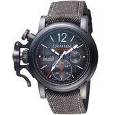 GRAHAM格林漢Chronofighter復古飛行限量腕錶    2CVAV.B19A.T39T