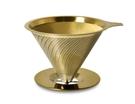 金時代書香咖啡 Driver[鈦]黃金流速濾杯(附底盤)2-4cup GB-TIG20262