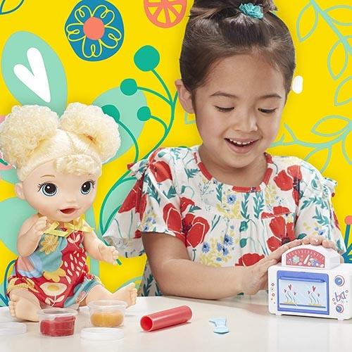 《 Baby Alive 》淘氣寶貝 - 烘焙點心娃娃╭★ JOYBUS玩具百貨