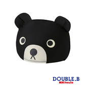 DOUBLE_B 黑熊抗UV泳帽
